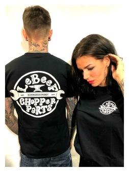 Lebeef Tshirt chopper parts unisex - XXL