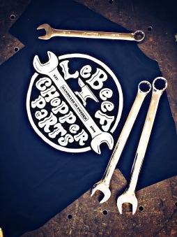 Lebeef Tshirt chopper parts unisex - S