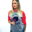 Depalma Tshirt Wildcat röd/grå unisex - L