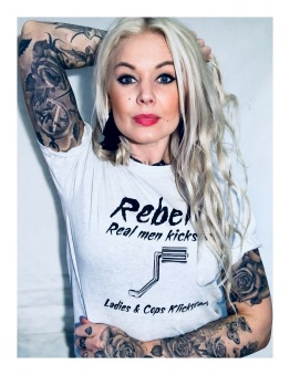 Rebell Tshirt Klickstart grå unisex - M