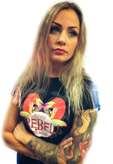 Rebell Tshirt hula-hula unisex - XXL
