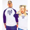 Bc Tshirt Werewolves Of London Baseball Tee