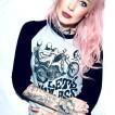 Bc London 'Lets Haul Ass' Grå/Svart Tshirt unisex - small