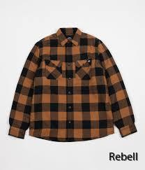 Dickies Jacka Fodrad flanell Lansdale brownduck | rebellclothes