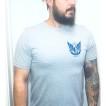 Depalma Tshirt Thunder road grå/Blå unisex - XL