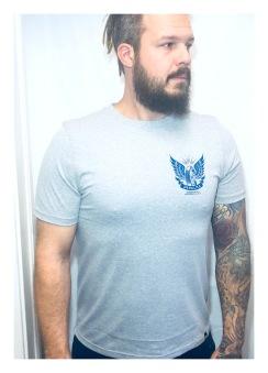 Depalma Tshirt Thunder road grå/Blå unisex - L