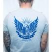 Depalma Tshirt Thunder road grå/Blå unisex