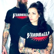 Vardhalla  tshirt sundown svart unisex