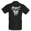 Rebell Panhead svart nyhet unisex