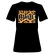 Rebell Tshirt Leopard svart dammodell nyhet - XL