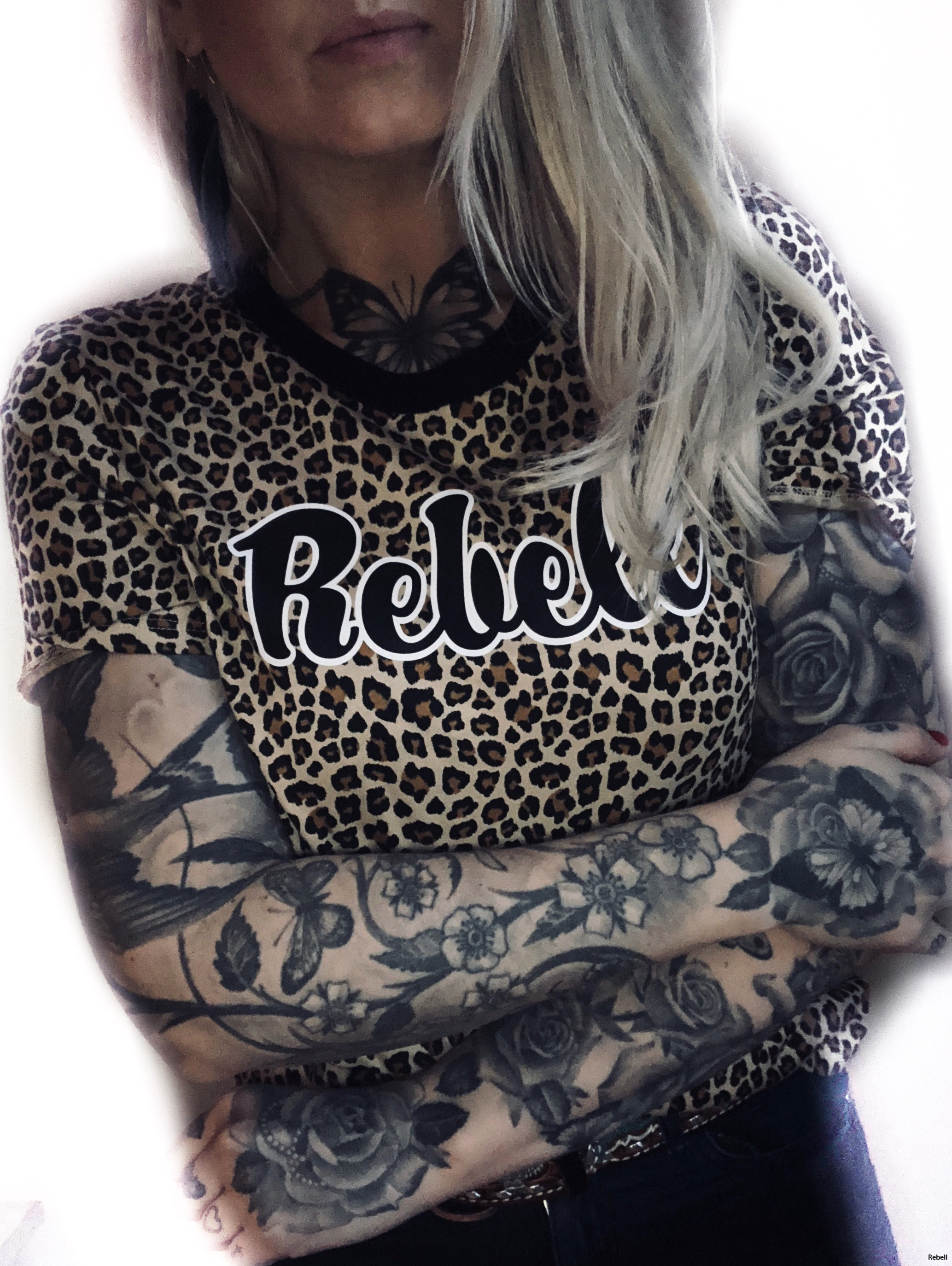 leopard leopardmönster djur djurmönster rebell rebellclothes inspiration rebel kläder attityde design