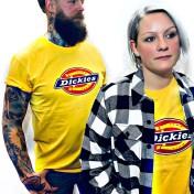 Dickies tshirt custard Nyhet bas horseshoe unisex