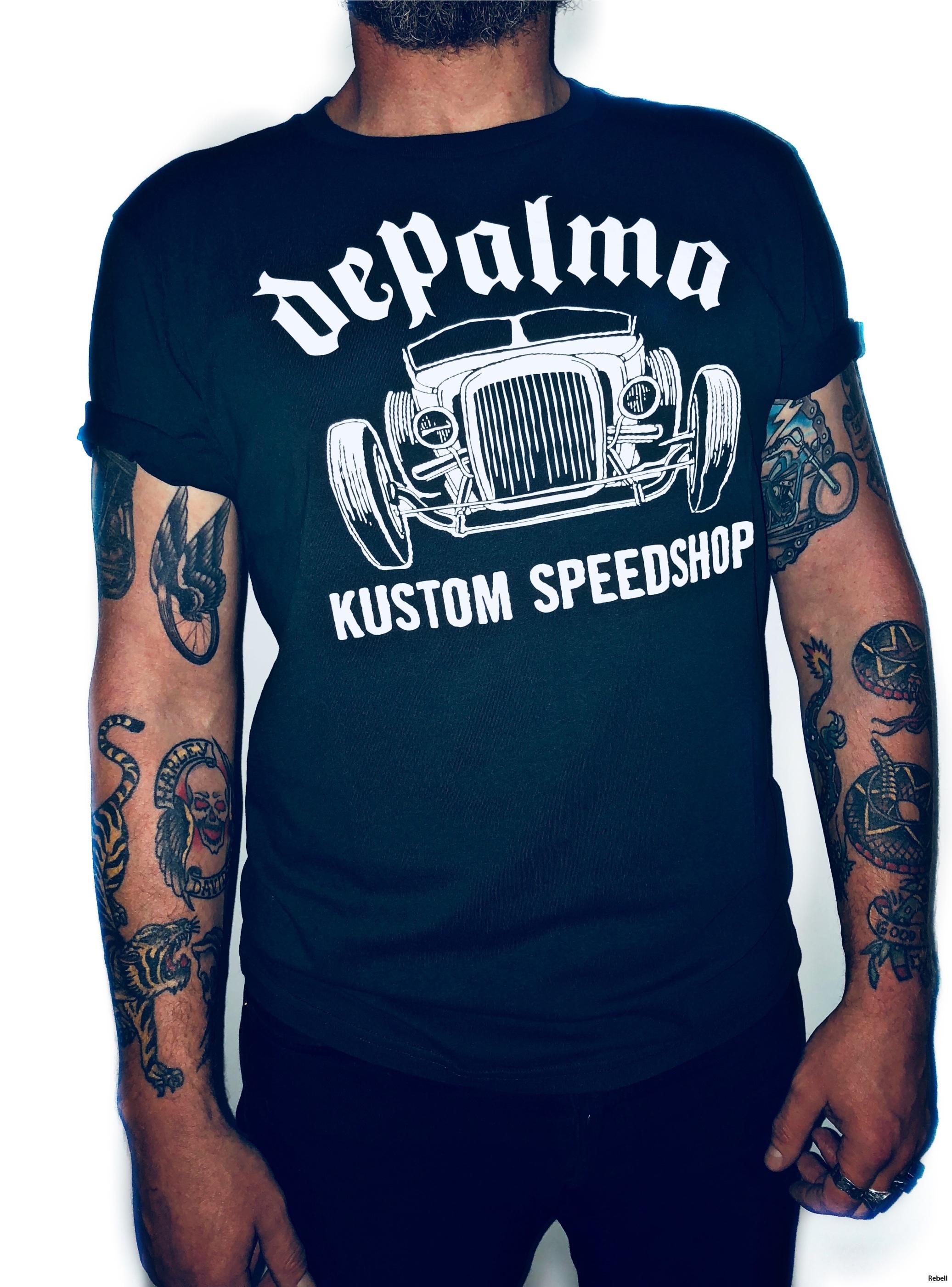 Depalma roadster car bike biker rebell depalmatshirt