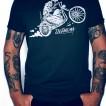 Depalma T-shirt nyhet raising svart unisex