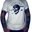 Depalma T-shirt nyhet skull&arrow vit/beige unisex