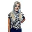 Rebell Leopard Tshirt- leopardmönstrad Limited edition nyhet. Dammodell