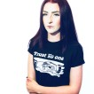 Rebell Tshirt trust no one svart unisex