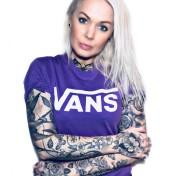 Vans Tshirt classic lilac unisex