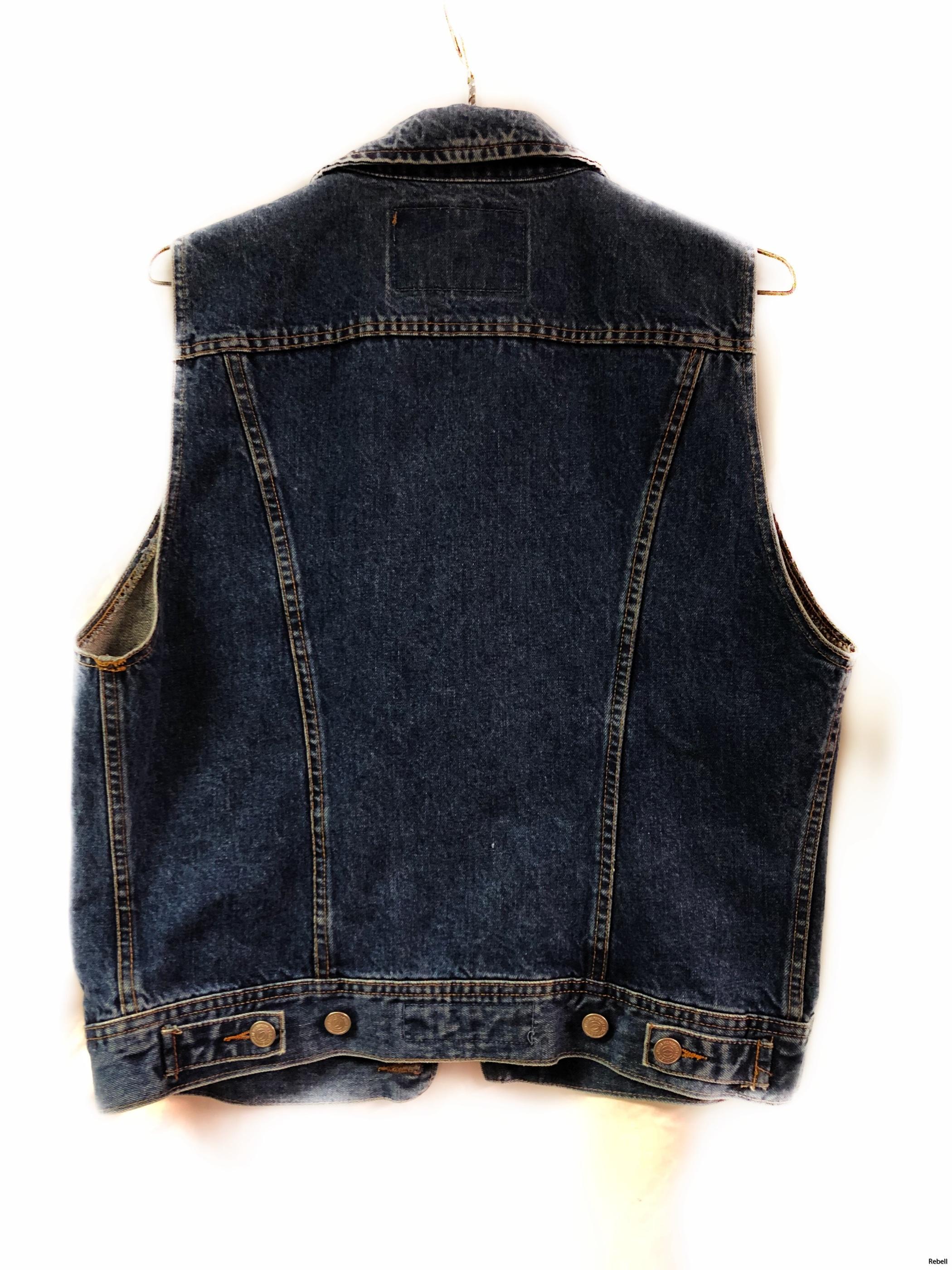 crocker crockerväst crockerjeansväst rebell rebellclothes vintage