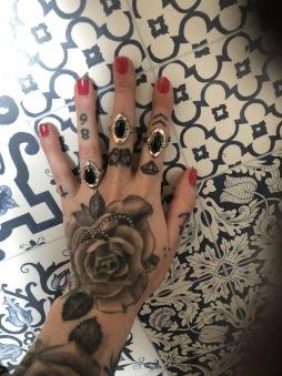rebell Ring svart onesize