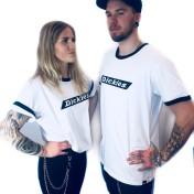 Dickies Tshirt bakerton svart/vit nyhet unisex