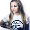 Rebell Tshirt hailsatan-satansfinest nyhet unisex