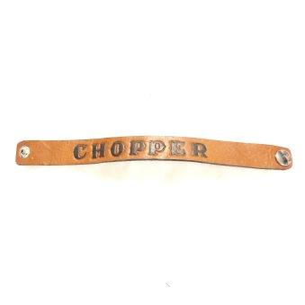 rebell smycke Läder armband chopper