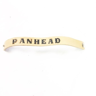 rebell smycke Läder armband panhead