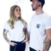 Dickies Tshirt News tarrytown white unisex