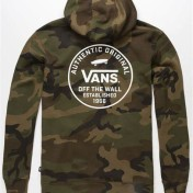 Vans hoodie camo/militär mönstrad unisex