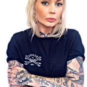 Dickies Tshirt slidell döskalle nyhet svart unisex