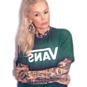 Vans Tshirt classic grön nyhet unisex