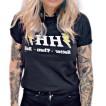 Rebell Tshirt HH - Hotter then hell svart unisex