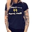 Rebell Tshirt Love Choppers hate people svart unisex