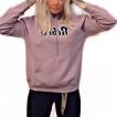 Rebell hoodie lavendel Lila