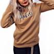 Rebell hoodie brown duck unisex