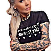 Rebell Tshirt boys whatever svart unisex
