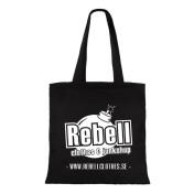 Rebell -Tygpåse rebell bomb loggo nyhet