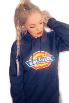 Dickies san Antonio hoodie navy Blue