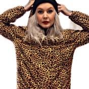 Rebell Leopard urbanclassic vind jacka dammodell