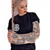 Independent Tshirt svart meld unisex