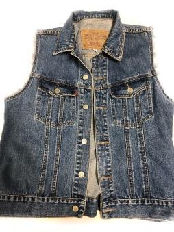 Junk Jeansväst crocker blå