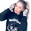 URBAN Classic motorhead hoodie grå dam
