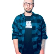 Dickies Flanell Sacramento nyhet coral blue unisex