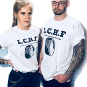 Rebell Tshirt L.C.H.F vit tshirt