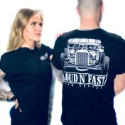 King Kerosin Tshirt Loud and Fast svart unisex