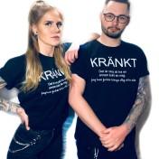 Rebell Tshirt kränkt svart unisex