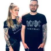 URBAN Classic AC/DC back in black unisex