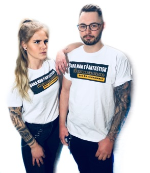Rebell Tshirt bara man e fantastisk unisex