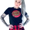 Santa Cruz  orginal svart bas  tshirt unisex